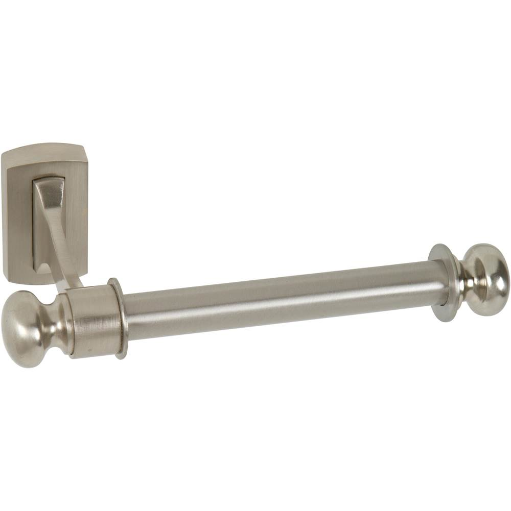 Atlas Legacy Bath Tissue Hook  Brushed Nickel