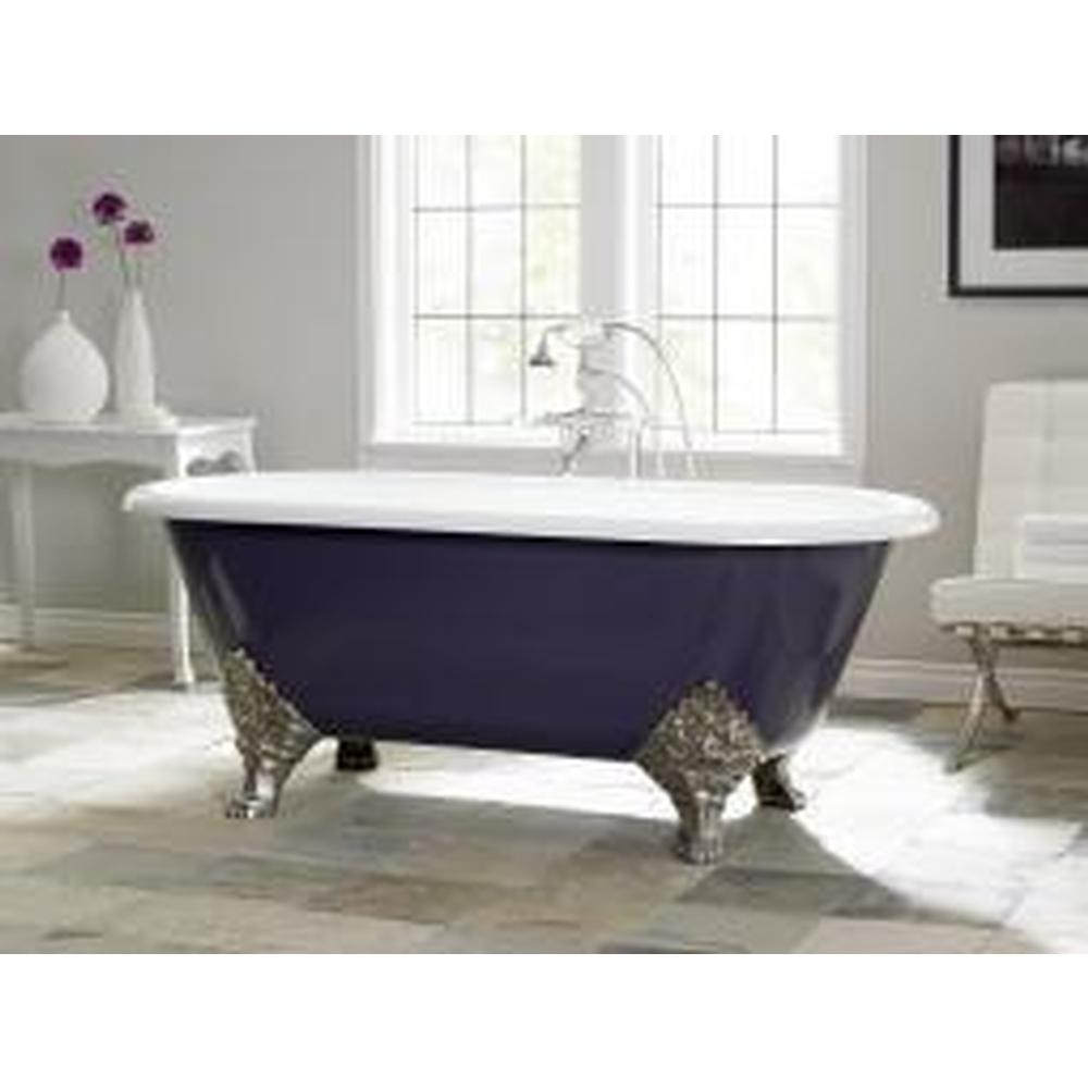 Cheviot Products CARLTON Cast Iron Bathtub with Faucet Holes