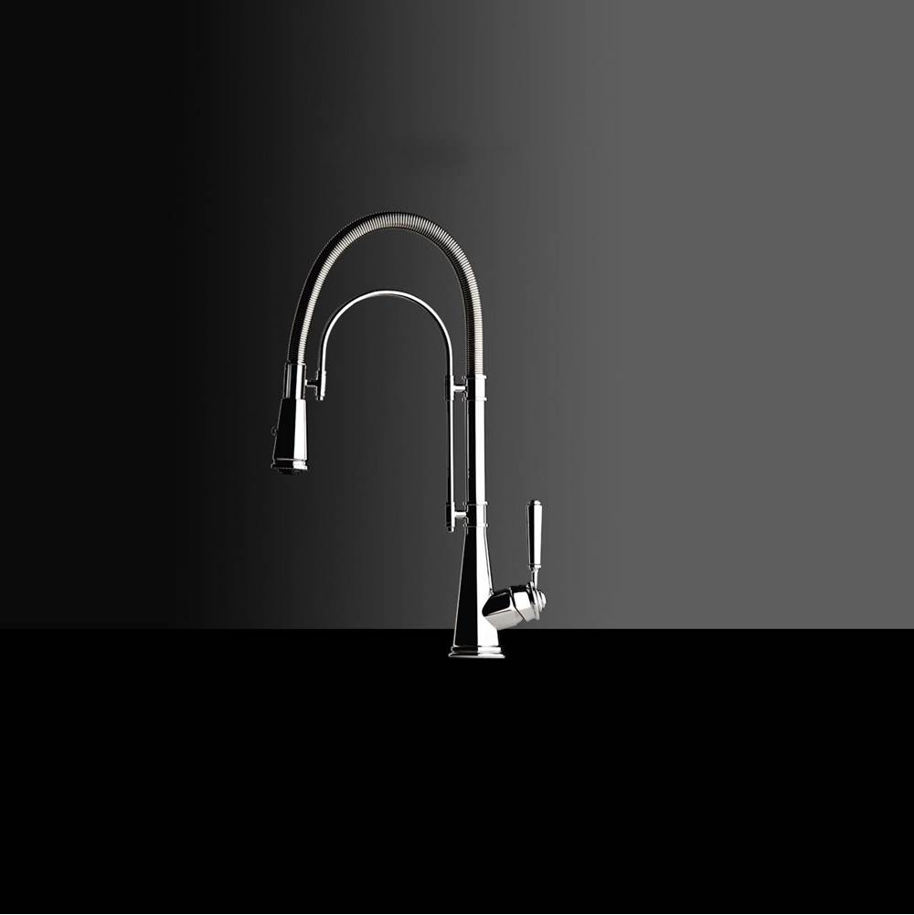 Chambord High Arch Kitchen Faucet in Brushed Nickel