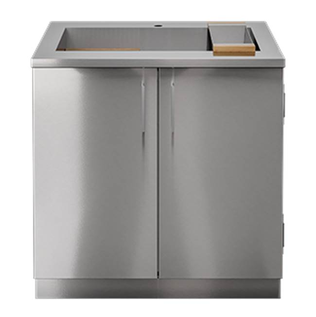 Home Refinements by Julien PURE Sink Cabinet SmartStation_M 36in 2Doors