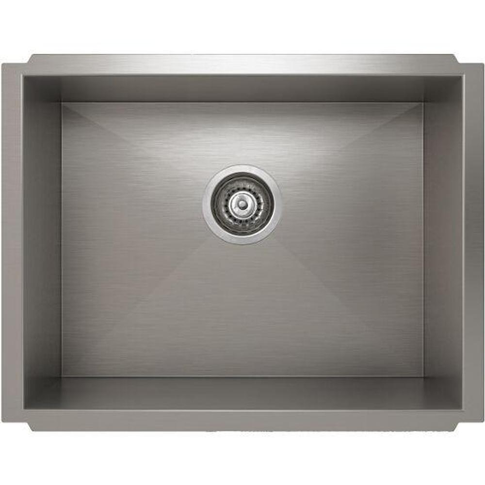 Pro Chef ProInox H0 sink undermount, single 21X16X8