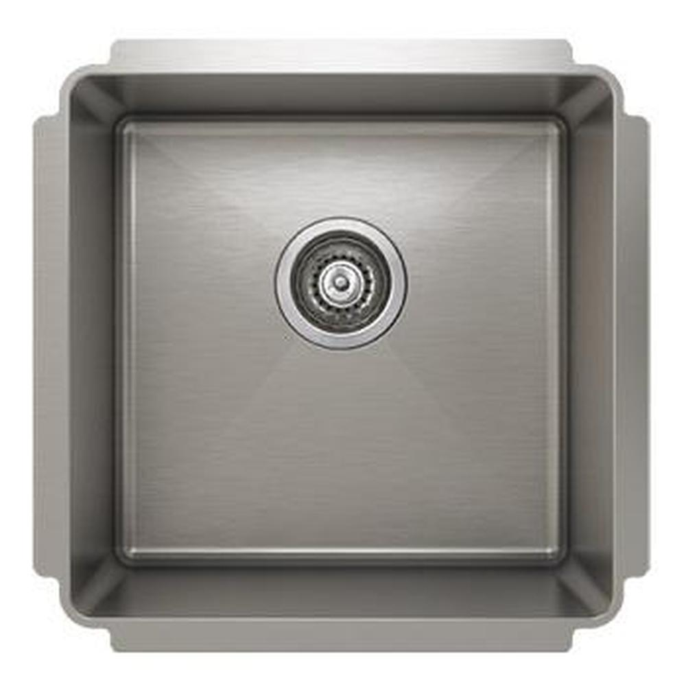 Pro Chef ProInox H75 sink undermount, single 16X16X10