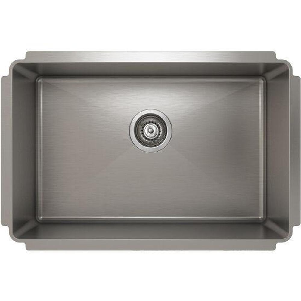 Pro Chef ProInox H75 sink undermount, single 25X16X8
