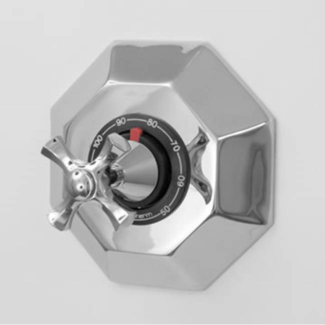 Sigma 3/4'' Thermostatic Valve W/ Hexagonal Plate - Mallorca