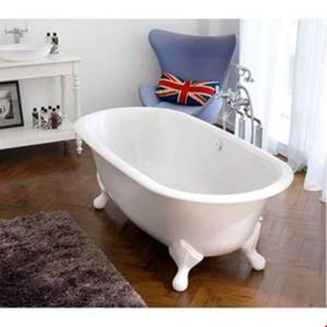 Victoria + Albert Victoria+Albert Radford 75'' Freestanding Clawfoot Bathtub In Standard White With Overflow